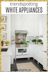 white kitchen cabinets yes or no trendspotting white appliances and how to style them