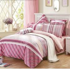Striped Comforter Awesome Pink Striped Comforter Queen Size Sets On Sale Obcs71824