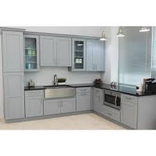 blind corner kitchen cabinet home depot grey plywood shaker stock ready to assemble wall blind corner kitchen cabinet 27 in w x 12 in d x 36 in h