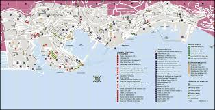 Travel Maps Travel Map Of Monaco Monaco Travel Map Vidiani Com Maps Of