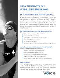 athletic resume student athlete resume skills student athlete resume skills best