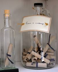message in a bottle wedding coastal chx bch style message in a bottle guest book