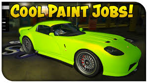 gta 5 online touch up tuesday neon green luxury red u0026 sunrise