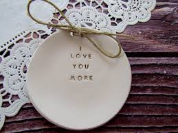engraved pillows handmade personalized i you more engraved ceramic dish