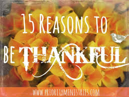 15 great reasons to give thanks christian womens