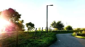 Flood Lights For Backyard by Good Outdoor Post Lights For Security Solar Powered Patio Post