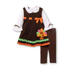 editions infant toddler s thanksgiving top dress