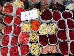 cheap roses wow how cheap roses picture of pak khlong talat flower market