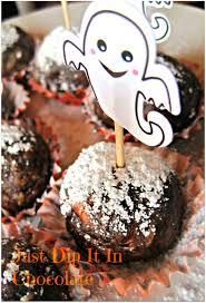 just dip it in chocolate ghostbusters halloween brownies recipe