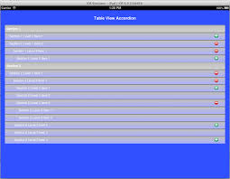 thewarpedcoder titanium accordion table view ios