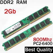 Ram Ddr2 Ddr2 2gb 800 Ram 800mhz 2gb Ddr2 Ram Memoria Single Dual Channel