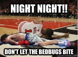 Manny Pacquiao Meme - night night don t let the bedbugs bite derrick rose manny