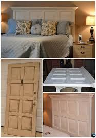 Diy Door Headboard Unexpected Ways To Re Purpose Old Doors Into New Furniture