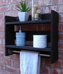 bathroom wall shelf ideas simply modern rustic bathroom shelf w 18