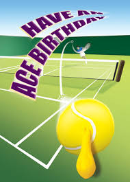 birthday tennis balloon birthday card buy cardoons greetings