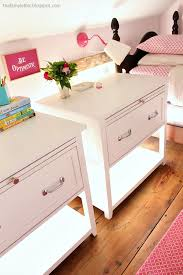 ana white nightstand with pull out shelf diy projects