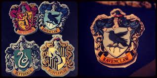 printable hogwarts house crests damn good shindig