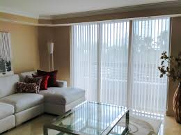 decorating window with white fabric levolor blinds on tan wall