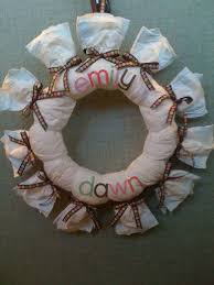i u0027m not messy i u0027m just busy diaper wreaths