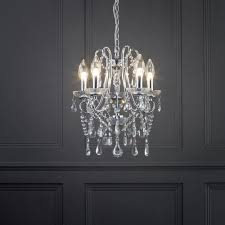 Chandelier Bathroom Lighting Marquis By Waterford Annalee Small Led 5 Light Bathroom