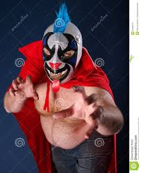 Luchador Halloween Costume Mexican Wrestling Portrait Royalty Free Stock Photography Image