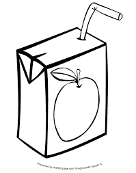 Juice Box Free Coloring Pages For Kids Printable Colouring Sheets Box Coloring Pages