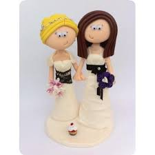 woman cake topper 24 best lgbt civil partnership wedding cake toppers