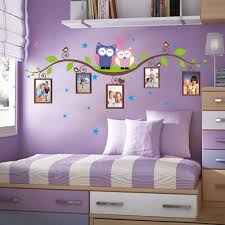 green wall decal promotion shop for promotional green wall decal owls on tree wall stickers for kids rooms decorative adesivo de parede pvc wall decal new owls green branch photo frames sticker