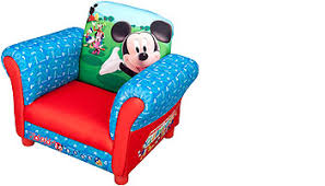 disney mickey mouse upholstered chair toys