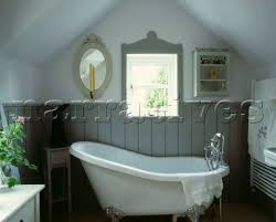 farrow and bathroom ideas freestanding bath with tongue and groove panelling in hardwick white