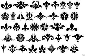 fontscape home symbols fleurons
