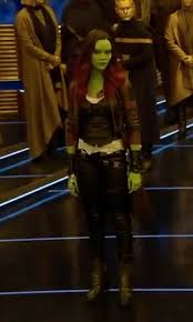 gamora costume zoe saldana alexandra costume designer custom made costume
