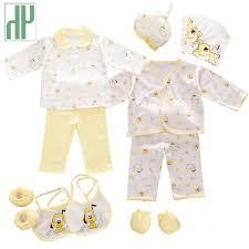 hh 100 cotton 18pcs set new born baby boy clothes 0 3 months