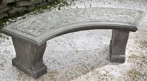 Curved Outdoor Benches Garden Benches Shop Outdoor Stone Bench