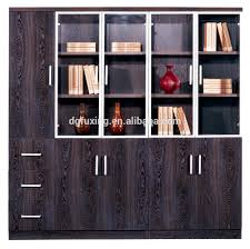Living Room Wood File Cabinet Modern Glass Door Office Filing Cabinets Wooden Filing Wood Filing