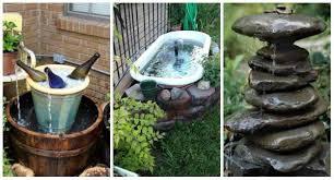 faire une fontaine cuisine 15 splendides fontaines et jardins d eau à faire soi même guide
