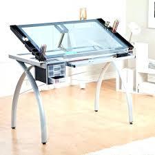 Glass Desk Modern Home Office Glass Desk Neodaq Info