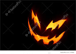 picture of spooky pumpkin face