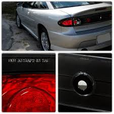 2004 Silverado Tail Lights Chevy Cavalier 2003 2005 Black Altezza Tail Lights A122z050110