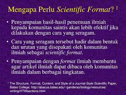 artikel format paper ilmiah penulisan artikel ilmiah ppt download