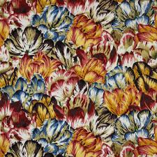 kaffe fassett collective tulip mania natural fabric emerald city