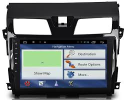 nissan altima 2013 radio w navigation and touch screen quad core 10 2 inches hd 1024 600 muti touch screen android 4 4 4