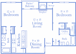 how big is 1000 square feet summit apartments colorado springs floor plans