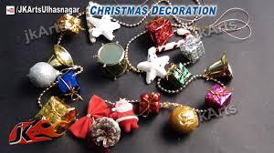 how to make christmas decoration garland diy room decor jk
