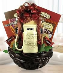 coffee gift baskets for a cozy evening tea coffee gift basket of delights by