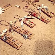 25 unique scrabble ornaments ideas on scrabble tile