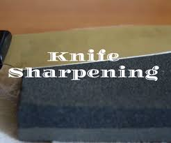How Do You Sharpen Kitchen Knives by How To Sharpen Knives 3 Steps With Pictures