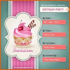 birthday card invitations apa exles