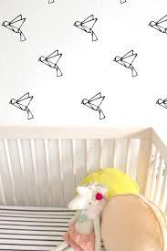 the 25 best bird wall decals ideas on pinterest bird wall art origami bird wall decal