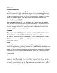 Hadoop Big Data Resume Hadoop Sample Resume